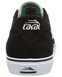 Tenis de ante negros de Lakai