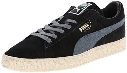 Tenis de ante negros de Puma