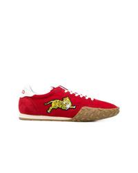 Tenis de ante rojos de Kenzo
