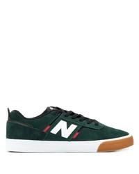 Tenis de ante verde oscuro de New Balance