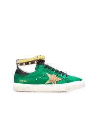 Tenis de ante verdes de Golden Goose Deluxe Brand