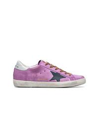 Tenis de ante violeta claro de Golden Goose Deluxe Brand