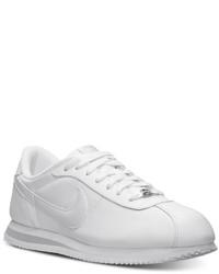 Zapatillas Nike Blancas De Cuero