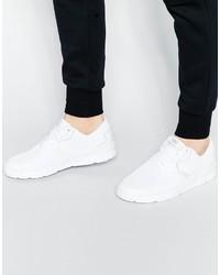 Tenis de Cuero Blancos de Supra