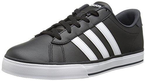 tenis adidas negro con blanco