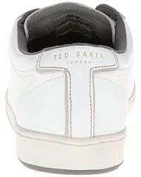 Tenis de cuero negros de Ted Baker