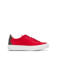 Tenis de cuero rojos de Fabiana Filippi