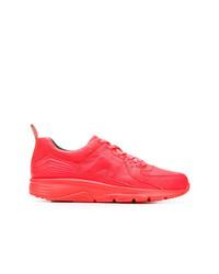 Tenis de cuero rosa de Camper