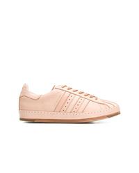 Tenis de cuero rosados de Hender Scheme