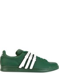 Tenis de cuero verdes de Adidas By Raf Simons