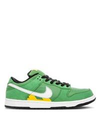 Tenis de cuero verdes de Nike