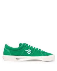 Tenis de cuero verdes de Vans