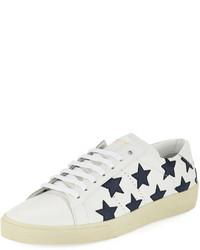 Tenis de estrellas blancos
