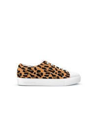 Tenis de leopardo marrón claro de Swear