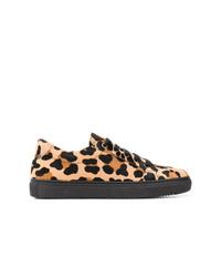 Tenis de leopardo negros de P.A.R.O.S.H.