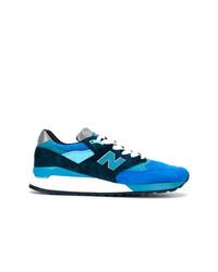 Tenis de lona azules de New Balance