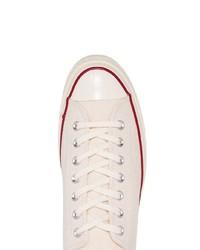 Tenis de lona blancos de Converse
