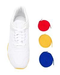 Tenis de lona blancos de Reebok