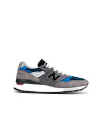 Tenis de lona en gris oscuro de New Balance