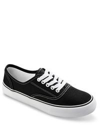 Tenis de Lona en Negro y Blanco de Mossimo