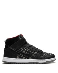 Tenis de lona en negro y blanco de Nike