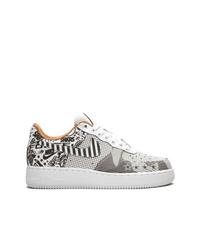 Tenis de lona estampados grises de Nike