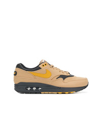 Tenis de lona marrón claro de Nike