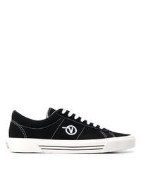 Tenis de lona negros de Vans