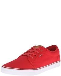 Zapatos Lacoste Rojos
