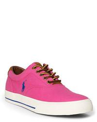 Tenis de lona rosa