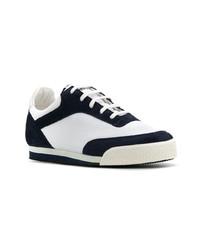 Tenis en azul marino y blanco de Comme Des Garcons SHIRT