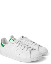 2adidas blancas verdes