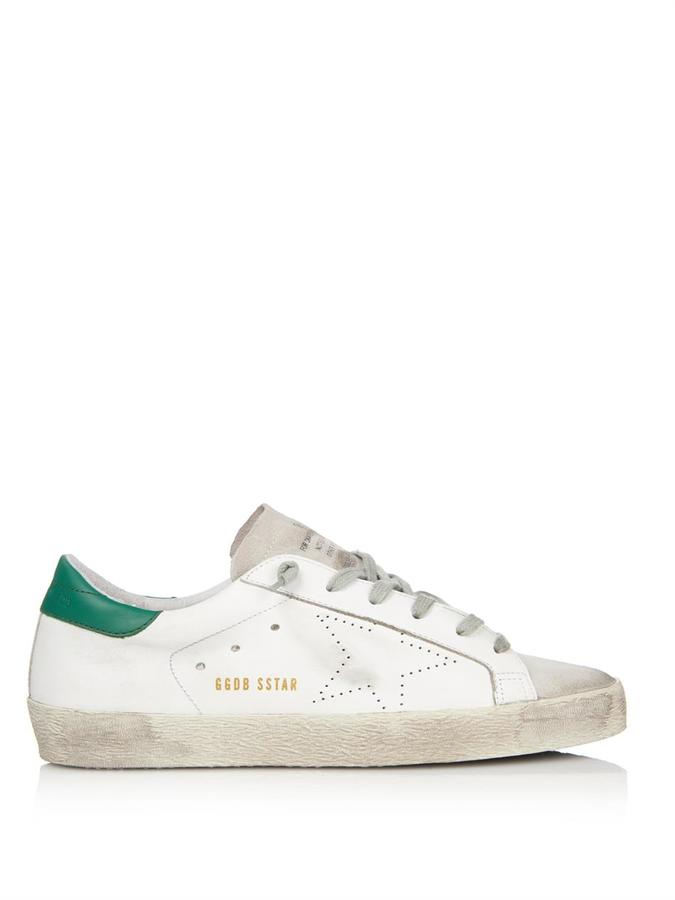 Superstar Blanco Con Verde
