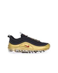 Tenis en negro y dorado de Nike