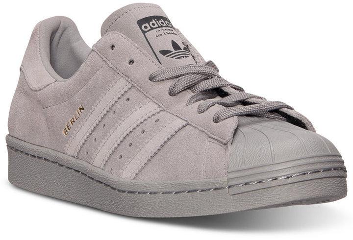 adidas tenis bota gris