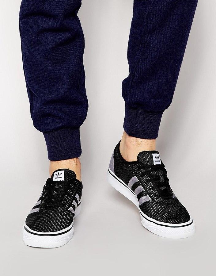 tenis adidas negros de hombre