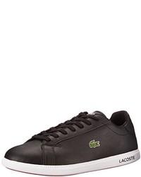 Tenis negros de Lacoste
