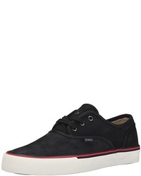 Tenis negros de Ralph Lauren