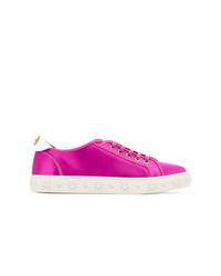 Tenis rosa de Aquazzura