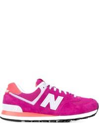 Tenis rosa de New Balance
