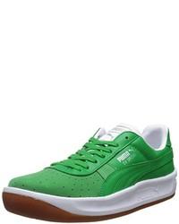Tenis verdes de Puma