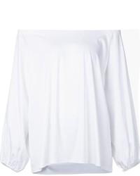 Top con hombros descubiertos blanco de The Row