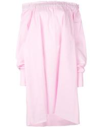 Top con hombros descubiertos rosado de MARQUES ALMEIDA