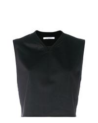 Top corto negro de Givenchy