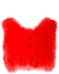 Top corto rojo