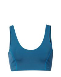 Top de bikini azul de Cynthia Rowley