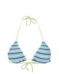 Top de bikini en multicolor de Cecilia Prado