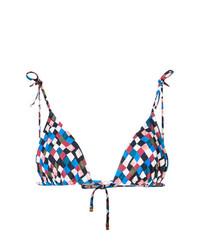 Top de bikini en multicolor de Tory Burch