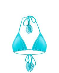 Top de bikini en turquesa de Martha Medeiros