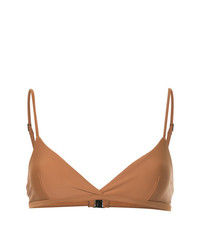Top de bikini marrón de Matteau